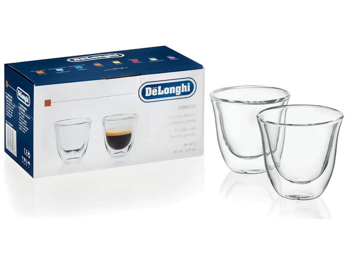 delonghi double walled thermo espresso glasses