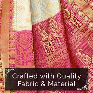 Mimosa womens traditional art silk saree kanjivaram style with gorgeous off white saree is well crafted with high quality art silk fabric soft finished heavy zari border with designer pallu comfortable to wear fandeluxe Gallery