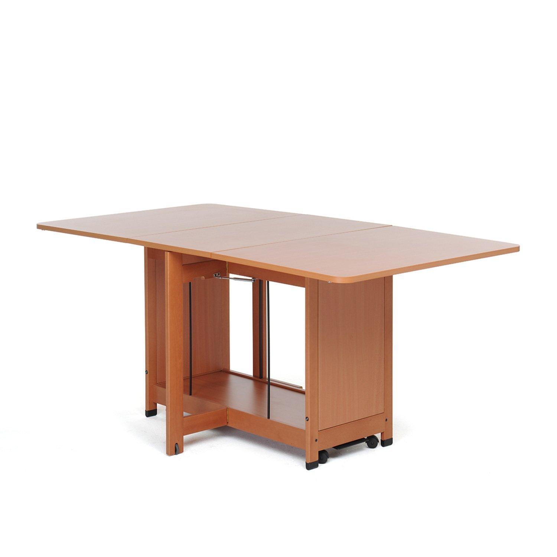 Foppapedretti copernico tavolo pieghevole noce casa e cucina - Tavolo pieghevole a muro foppapedretti ...