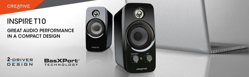 Creative Inspire T10 Altavoces 2 0 Creative Labs