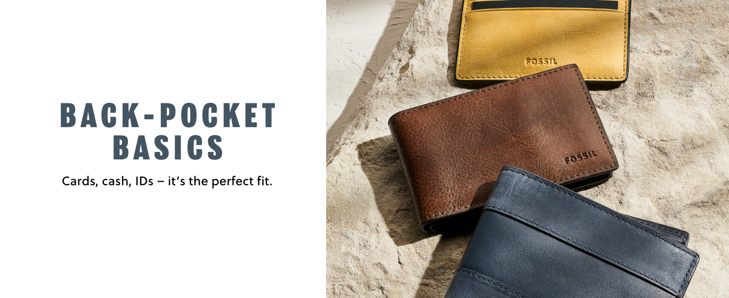 fossil leather men
