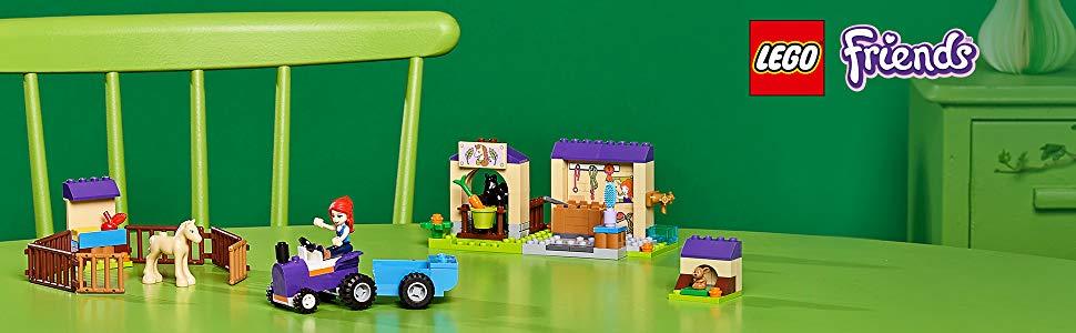 Buy LEGO Friends Mia's Foal Stable Building Blocks for Kids (118 ...