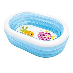 Intex 57482NP - Piscina hinchable My Sea Friends 163 x 107 x 46 cm 230 litros , color/modelo surtido: Amazon.es: Jardín