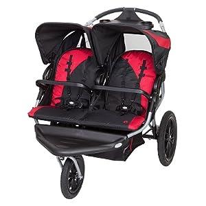 Amazon.com : Baby Trend Navigator Lite Double Jogger ...