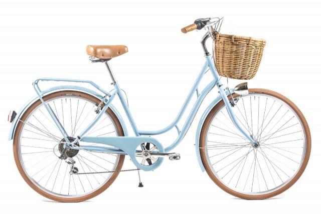Capri Bicicleta de Paseo Berlin 6 velocidades - Crema: Amazon.es ...
