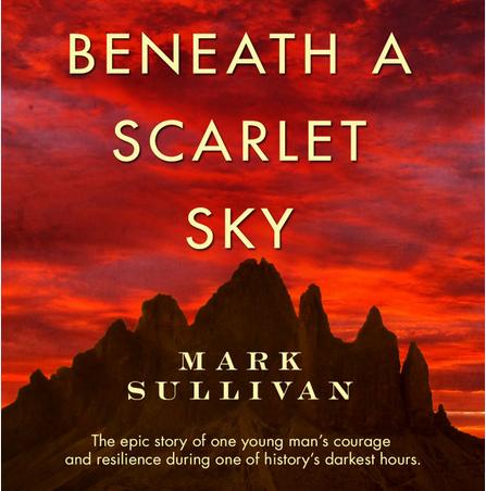 Image result for beneath a scarlet sky