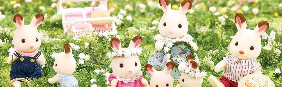 SYLVANIAN FAMILIES- Hedgehog Twins Mini Muñecas Y Accesorios, Multicolor (Epoch para Imaginar 5218)