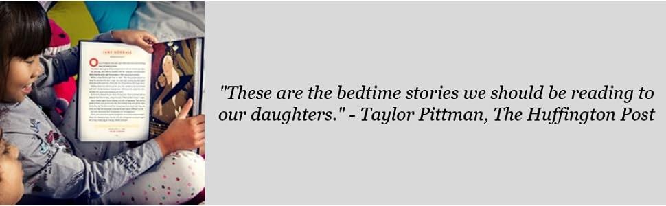 bedtime, nighttime, rebel girls, goodnight, stories
