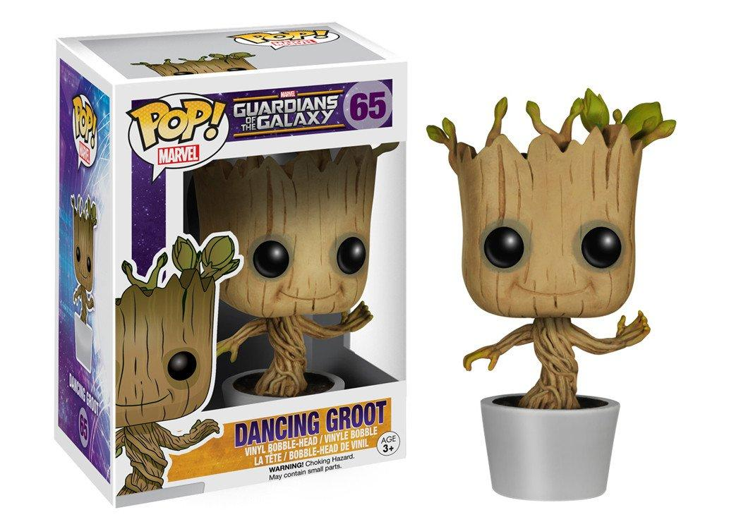 Amazon Com Funko Pop Marvel Dancing Groot Bobble Action Figure
