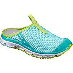 RX Slide 3.0, Zapatillas de Running para Asfalto Unisex Adulto, White/White/Silver Metallic-X, Talla: 36 Salomon