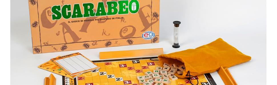 Editrice giochi gioco da tavolo scarabeo 6033993 giochi e giocattoli - Scarabeo gioco da tavolo ...