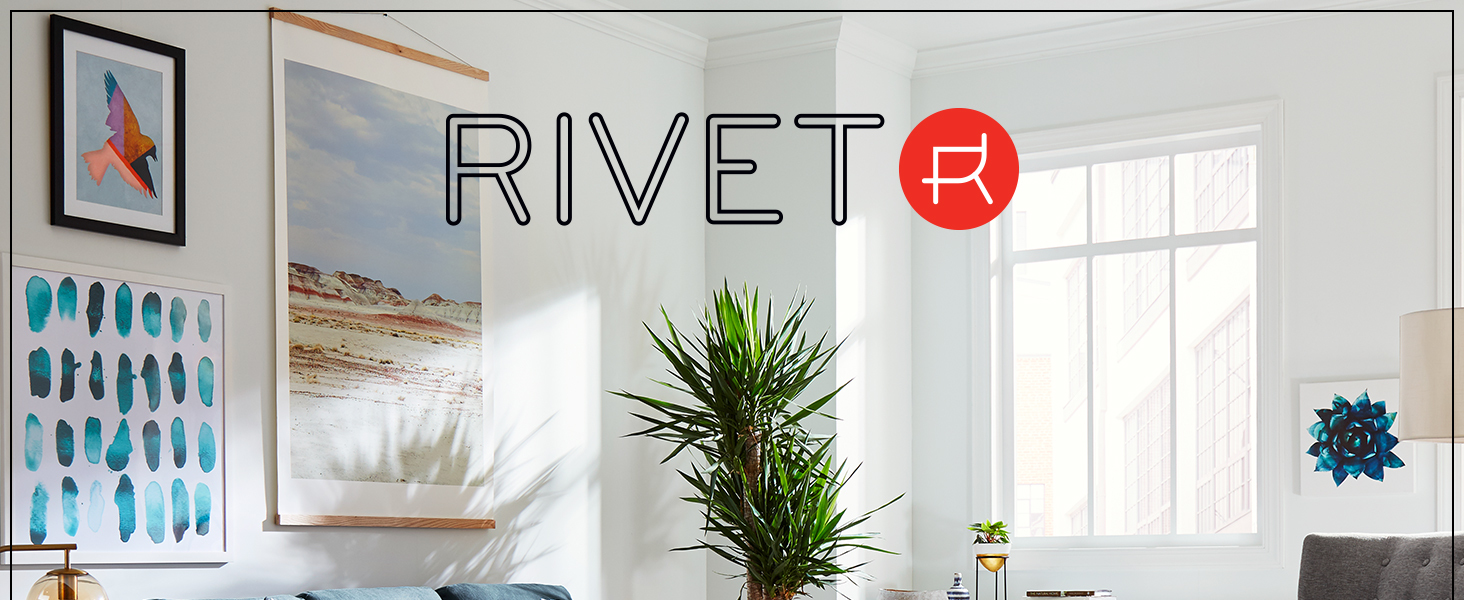 Rivet, home furnishings, small space, studio, apartment, rug, area rug, durable, quality, neutral