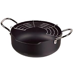 パール金属(PEARL METAL) IH対応 注ぎやすい 鉄 揚げ物鍋