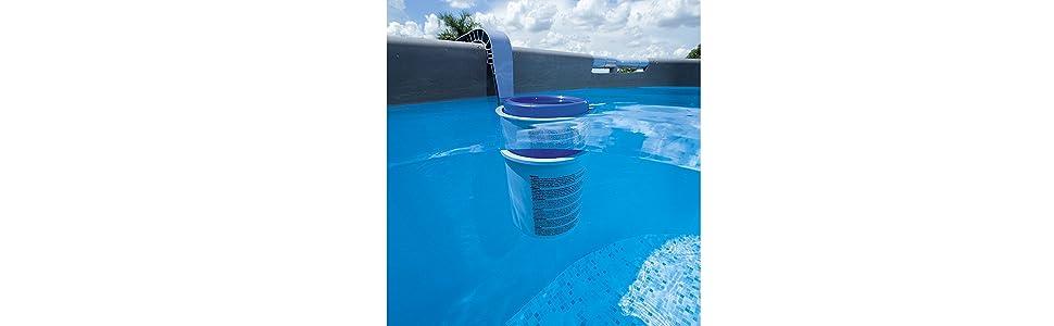 Larghezza 42cm Rete Piatta per Piscina Maglia Fine Pool Skimmer Deep Bag per La Pulizia Della Piscina Garden Pond Hot Tub Spa LATERN Skimmer per Foglie da Piscina