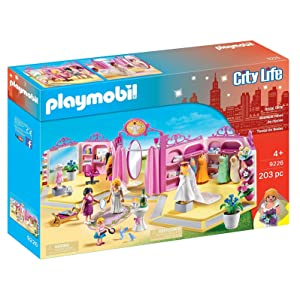 5fc888e69f Playmobil 9226 - Boutique della Sposa: Amazon.it: Giochi e giocattoli