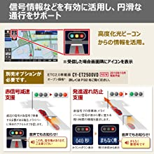 パナソニックカーナビストラーダ 信号情報活用運転支援システム