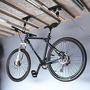 Silverline 554289 - Poleas para bicicleta (20 kg): Amazon.es ...