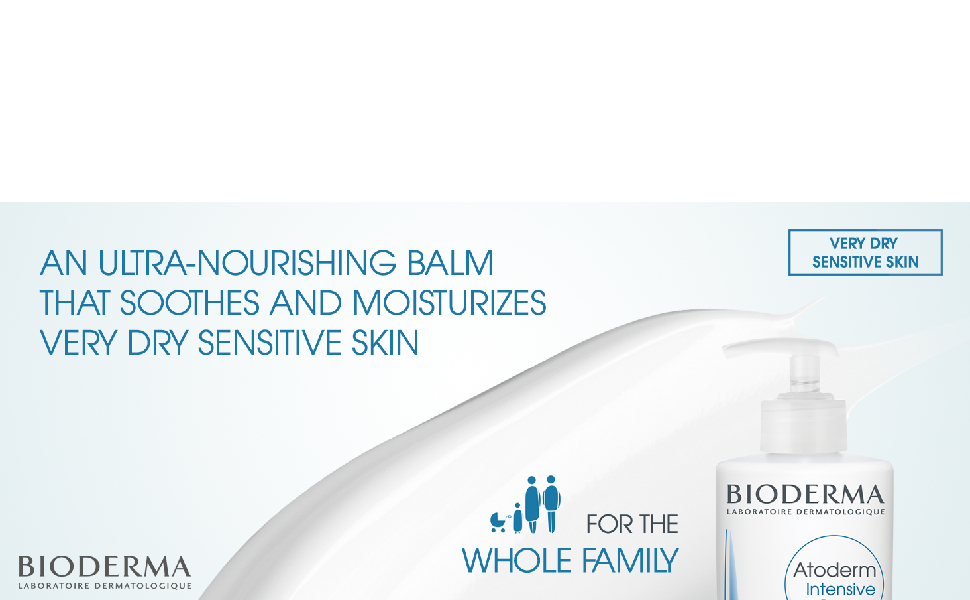 Bioderma Atoderm Intensive Ultra-Soothing Balm for Very Dry Sensitive to Atopic Skin