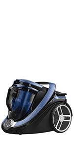Rowenta Silence Force Cyclonic Classic RO7611EA Aspirador trineo sin bolsa, 750 W, silencioso 67 dB, capacidad 2.5 L, color azul y negro: Amazon.es: Hogar