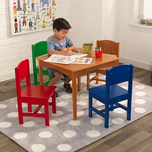 Nantucket Table amp; 4 Primary Chairs