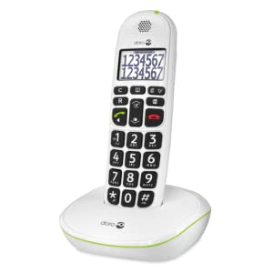 Doro PhoneEasy 110 (X 1 / Blanco): Amazon.es: Electrónica