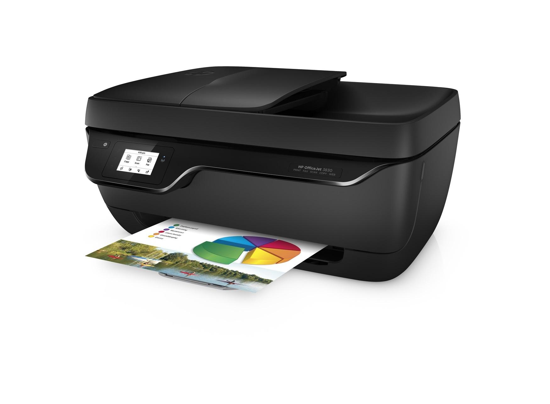 Hp Officejet 3833 Stampante Multifunzione Con 4 Mesi Di