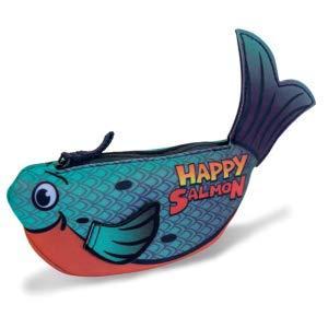 Happy Salmon Blue