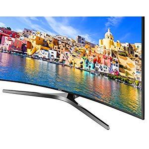 Samsung 55 Inch Curved 4K UHD Smart LED TV - 55KU7500