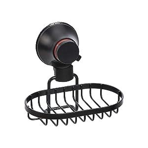 AmazonBasics - Jabonera para ducha con ventosa: Amazon.es: Hogar