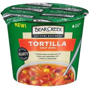 Bear Creek Hearty Soup Bowl, Tortilla