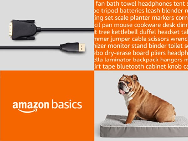 Amazon Basics Products for Home, Office, Kitchen, Storage, School, Pets and more