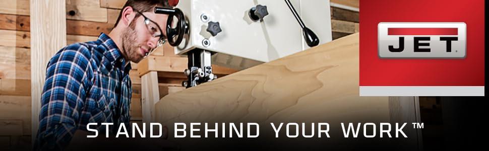 WMH Tool Group 4 sleeves Jet 575916 9-Inch Long Aluminum-Oxide Hard Sanding Sleeve 1-Inch Diameter 60 Grit