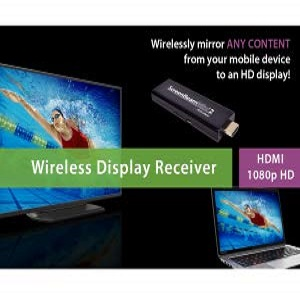 Black ScreenBeam Mini 2 Wireless Display Receiver Actiontec