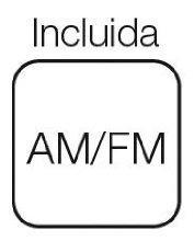 Elbe RF-52 - Radio portátil, sintonizador analógico AM/FM, color blanco: Amazon.es: Electrónica
