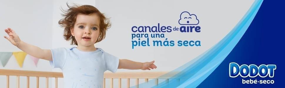 Dodot Bebé-Seco Pañales con Canales de Aire
