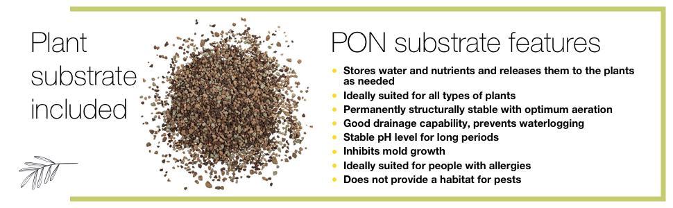 Lechuza Pon plant soil substrate