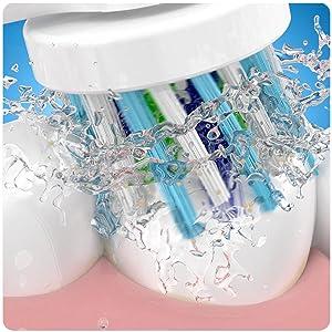 El cepillo eléctrico recargable Oral-B Smart 6 6000N es compatible con los siguientes cabezales de recambio: CrossAction, 3DWhite, Sensi Ultrathin, ...
