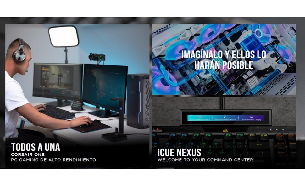 Corsair K55 RGB Teclado para Juegos con Teclas de Membrana ...