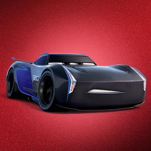 disney pixar cars 3 jackson storm 39 s transforming hauler playset toys games. Black Bedroom Furniture Sets. Home Design Ideas