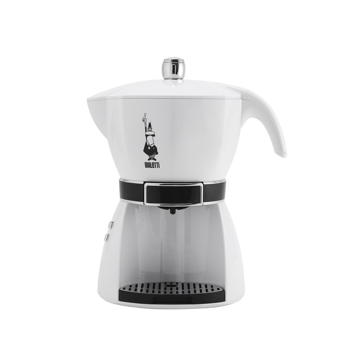 Bialetti Mokissima Bianca Macchina Del Caff Sistema Chiuso Espresso Machine Mokona Rossa