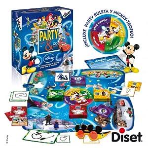 Diset- Disney Juego Party, 27.2 x 26.7 x 8.9 (46504): Amazon.es ...