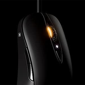 SteelSeries Sensei Ten, Gaming Mouse, 18,000 CPI, TrueMove Pro, Optical Sensor, Ambidextrous Design