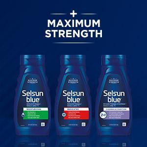 max strength shampoo for dandruff