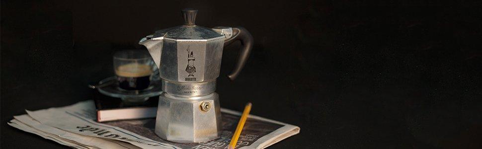 Bialetti Moka Induction Cafetera Italiana Espresso por Inducción, Aluminio, Rojo, 3 Tazas: Amazon.es: Hogar