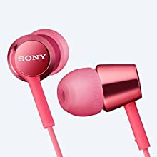Earphones with mic in-ear headphones Sony earphones headphones MDR-EX150AP