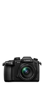 Panasonic ミラーレス一眼カメラ ルミックス GH5 レンズキット 標準ズームレンズ付属 ブラック DC-GH5M-K