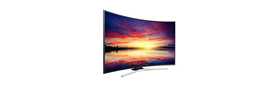 Samsung - Tv led curvo 40 ue40ku6100 uhd 4k, 1400 hz pqi y smart tv: Amazon.es: Electrónica