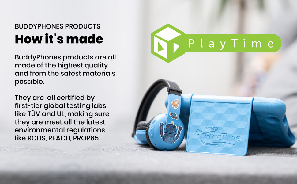 Bluetooth Headsets, Kids Headsets, PlayTime