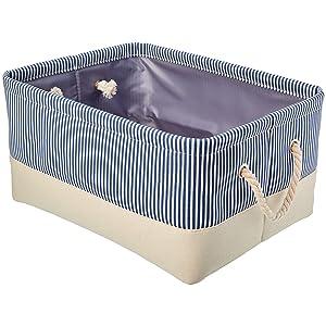 AmazonBasics Storage Basket with Handles