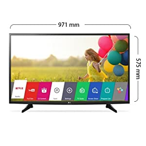 LG 43 Inch Smart LED Full HD TV With Built-In HD Receiver